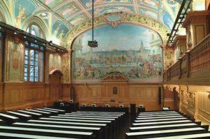 Aula du Palais de Rumine, à Lausanne (Louis Rivier, 1915-1923)