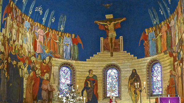 L'église Saint-Jean de Cour à Lausanne fête ses 100 ans
