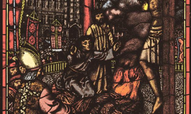A l'occasion des 500 ans de la Réforme : un vitrail de Louis Rivier à découvrir à Tournai (Belgique)