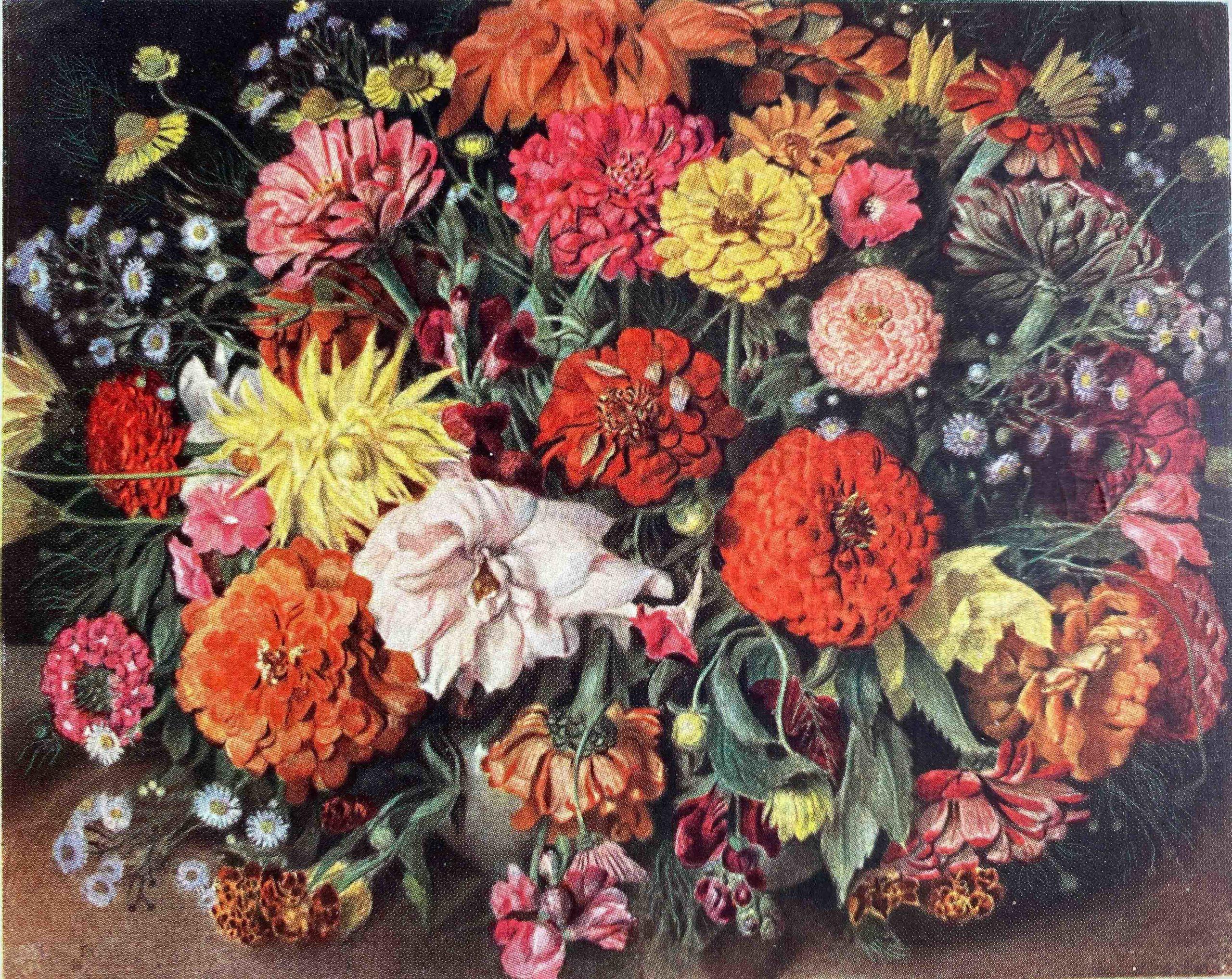 Bouquet de fleurs (Louis Rivier, 1943-1944)